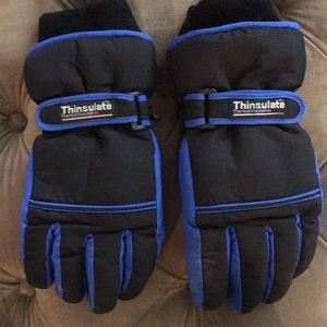 Thinsulate Ski Gloves Women's L or Youth XL